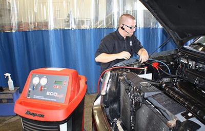 entretien air climatisé automobile